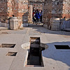 Basilica of St. John, Ephesus, Turkey. Cross in the floor.