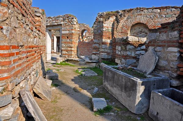 Basilica of St. John, Ephesus, Turkey.