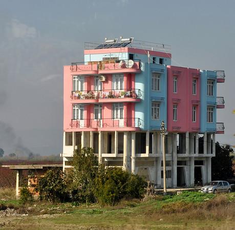 Turkey, housing architecture.