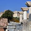 Basilica of St. John, Ephesus, Turkey, below the 6th century Byzantine citadel fortress.