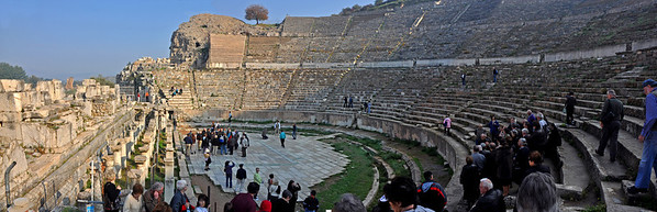 Theater, Ephesus, Turkey.