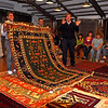 Sales room at a carpet factory, Ephesus, Turkey 373.