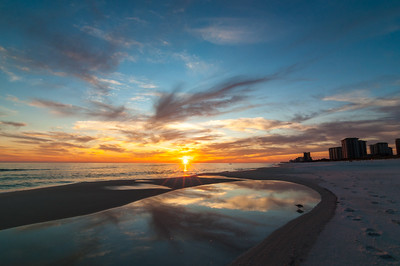 Henderson Beach State Park is located on the Gulf of Mexico in Destin, Okaloosa County, Florida.