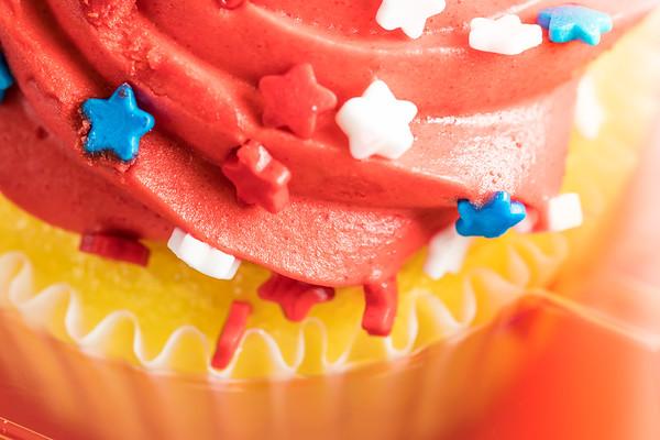 Closeup of a Cupcake