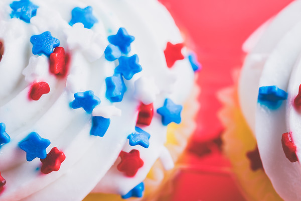 White Frosting on a Cupcake