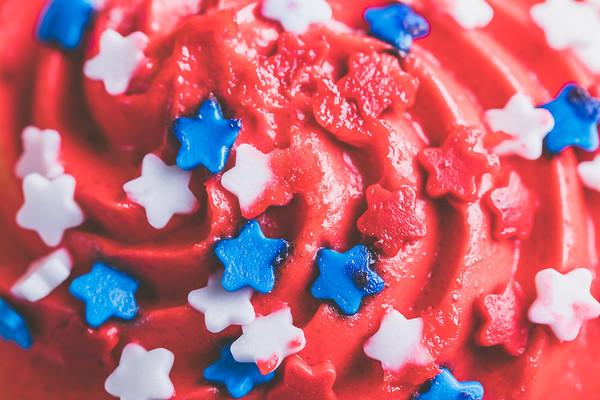 Overhead Macro Cupcake