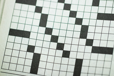 Overhead Angle of a Crossword Puzzle