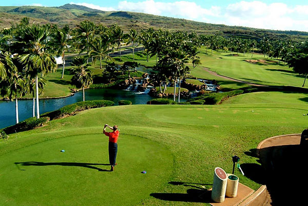Ko Olina Golf Course, 12th