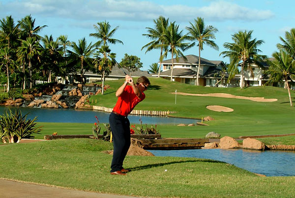 Ko Olina Golf Course, 18th