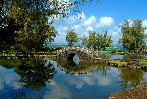 Liliuokalani Gardens, Hilo, Big Island of Hawaii