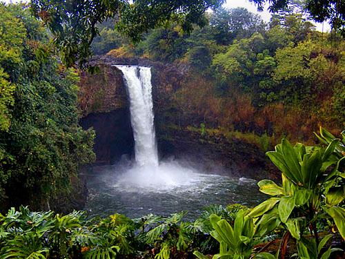 Rainbow Falls, Hilo, Big Island of Hawaii