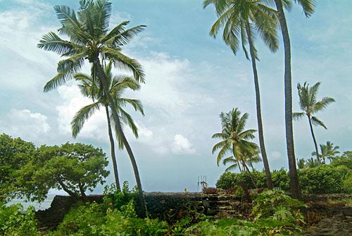 surfing heiau, Kona, Big Island of Hawaii