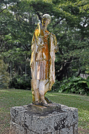 Diana statue, Allerton Garden, National Tropical Botanical Garden (NTBG), Kauai