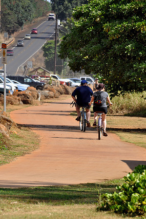 bike and pedestrian path, Kauai