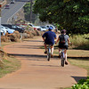 bike and pedestrian path by Kealia Beach, Kauai