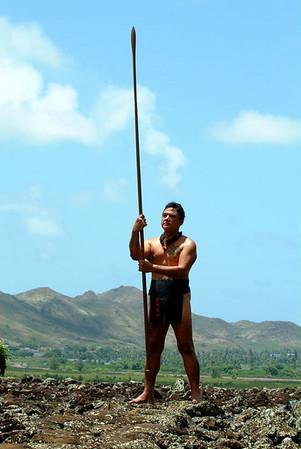 lua warrior holding spear 60
