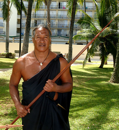 lua warrior holding a spear 71