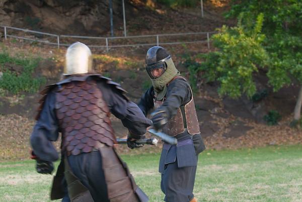 battle reenactment 108, Asian armor