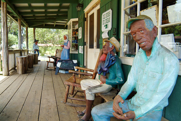 Ulupalakua country store and carvings, Upcountry Maui