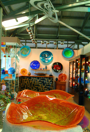creative glass shop, Kula, Maui