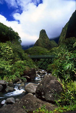 Iao Needle and Park, Maui