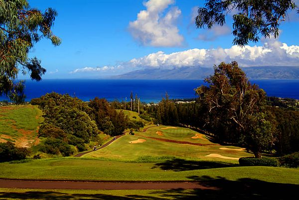 golf: Village Course, Kapalua