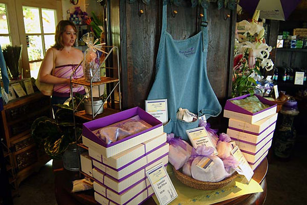 Ali'i Kula Lavender Farm's gift shop, Upcountry Maui