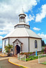 Maui's unique hexagonal Holy Ghost Church
