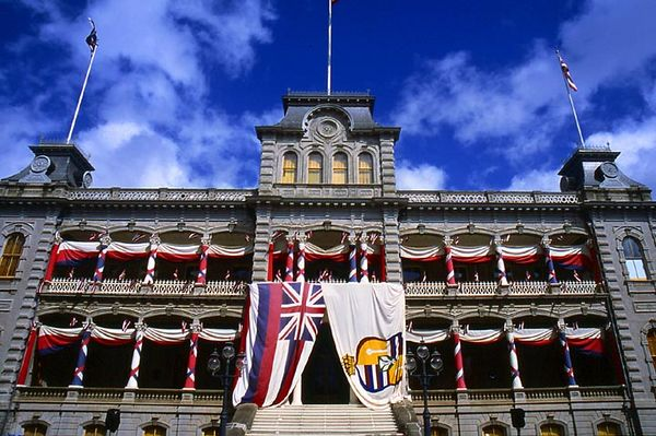 'Iolani Palace, Honolulu