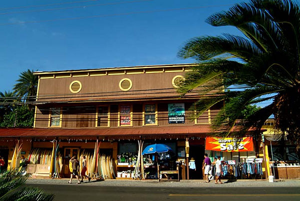 Surfboards and surf gear for sale at Surf N Sea, Haleiwa, North Shore, Oahu
