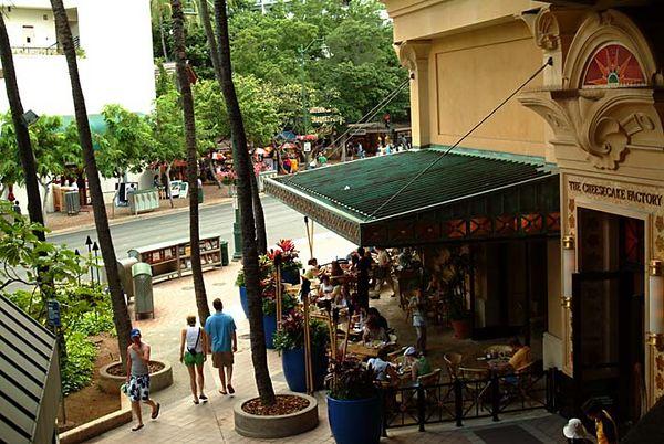 The Cheesecake Factory, Royal Hawaiian Shopping Center, Waikiki