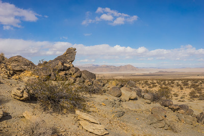 Rock Covered Desert HIllside