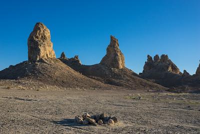 Camping in California Desert