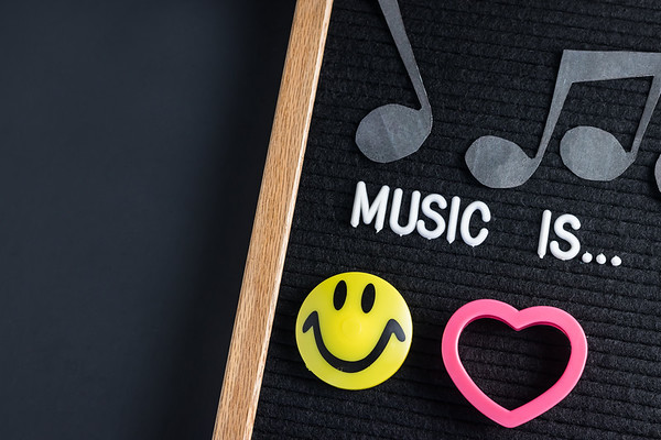 Music Is Happiness and Love