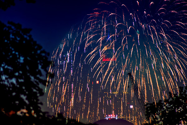 Fourth of July Fireworks in New York City