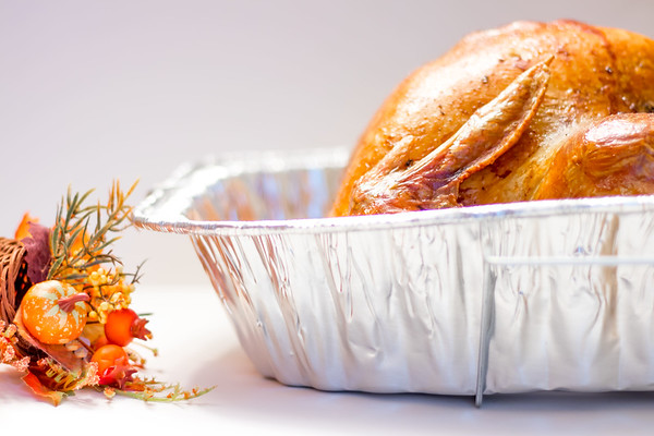 Cooked Turkey on Thanksgiving
