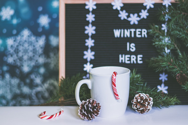 Winter Is Here decorations
