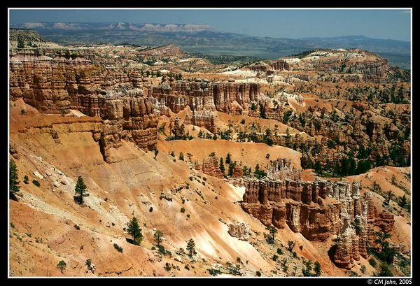 <H2><b>Bryce Canyon</b></H2> <P ALIGN=LEFT>Landscape view on Bryce Canyon, a marvel of Nature.</P> <H5>(Click on picture to enlarge)</H5>