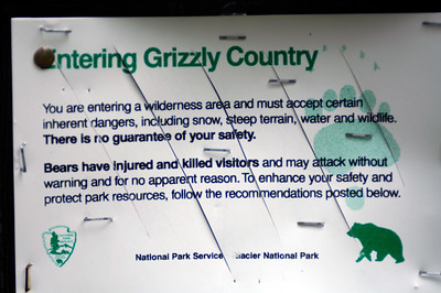 Grizzly Warning
