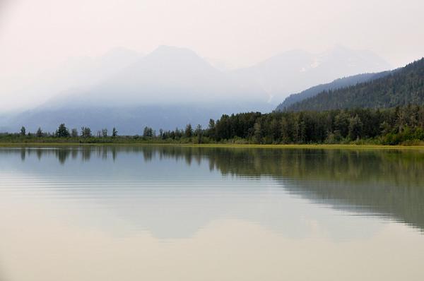 Alaska 585, lake reflections