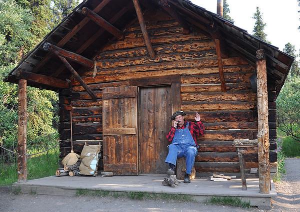 Denali Alaska 199, log cabin