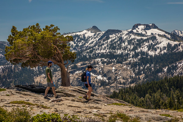 Donner Peak Hikers