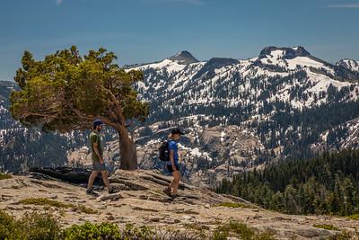 Donner Peak Hikers
