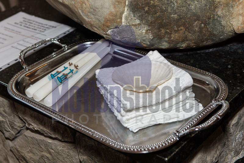 Symbolic items of a Catholic Baptism.