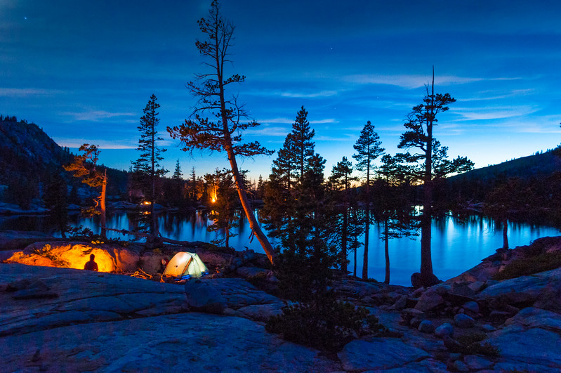 Pacific Crest Backpacking - Paradise Lake, Truckee