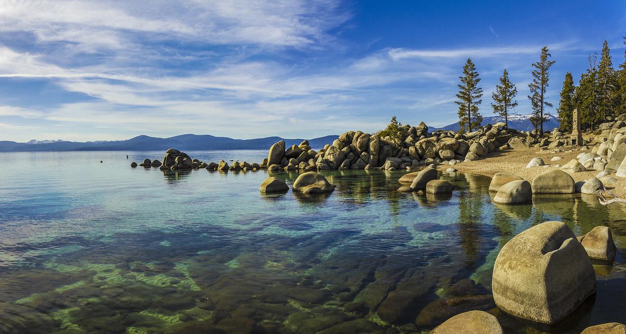 Chimney Beach Lake Tahoe