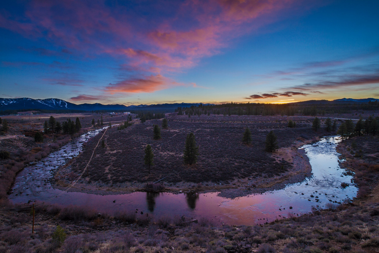 Truckee River overlook legacy trail
