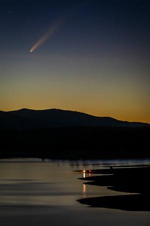 Comet Neowise near Boca