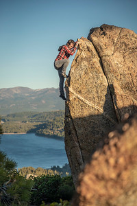 Bouldering Donner Lake