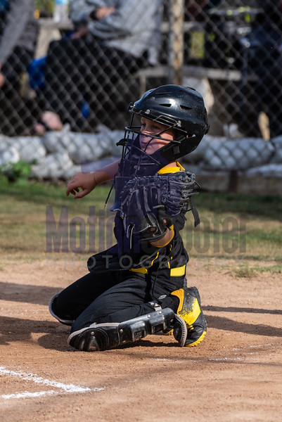 Young and agile behind the plate.
